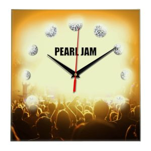 Pearl jam настенные часы 12