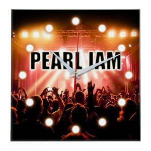 Pearl jam настенные часы 13