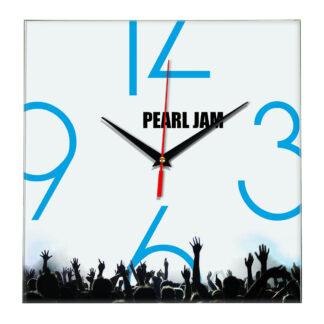 Pearl jam настенные часы 8