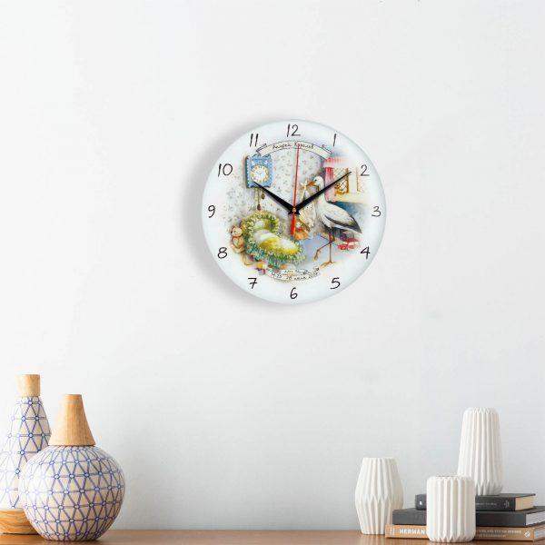 Персонализированные часы на рождение ребенка