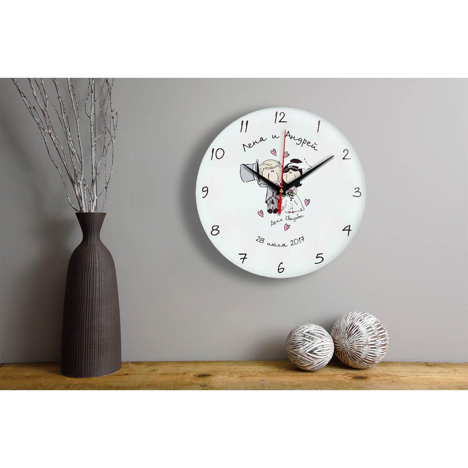 Персонализированный подарок на свадьбу — Часы