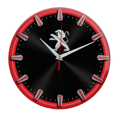 Настенные часы с рисками Peugeot 5 06