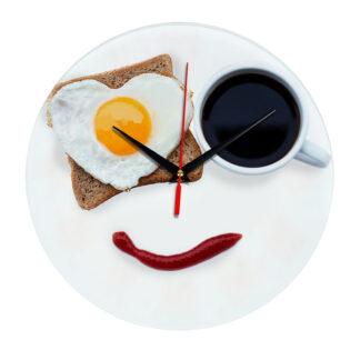 Часы Завтрак с улыбкой