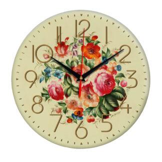 Часы букет Розы