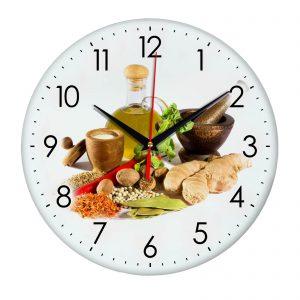 Настенные часы Специи и Масло