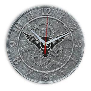 Piratskaya stanciya настенные часы 1