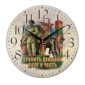Сувенир – часы pogranichnye vojska 0022