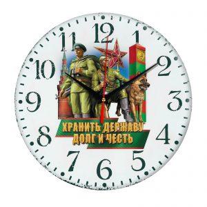 Сувенир – часы pogranichnye vojska 002