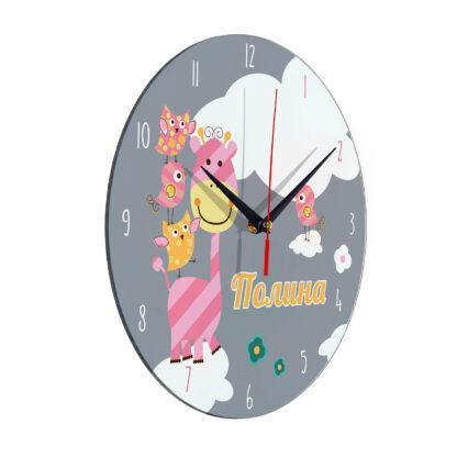 Часы персонализированные «Полина»