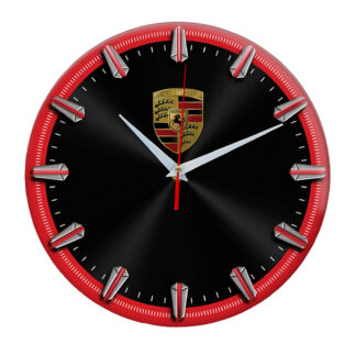 Настенные часы с рисками Porsche 5 06