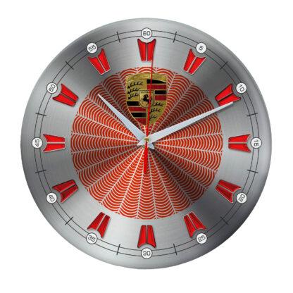 настенные часы с символом Porsche 5 09