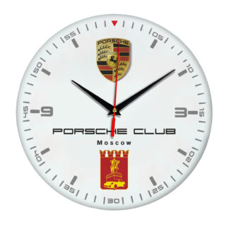Настенные часы «porsche спидометр»