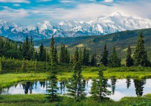 """Фото на стекле """"Природа Аляски"""""""