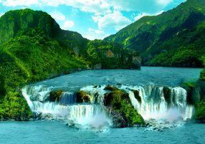 Фото на стекле «Водопады Игуасу»