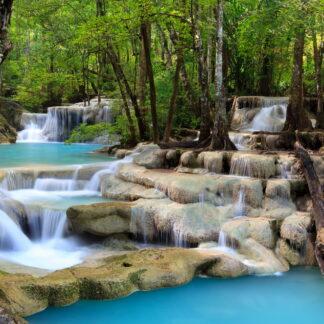 Фото на стекле «Водопад Эраван»