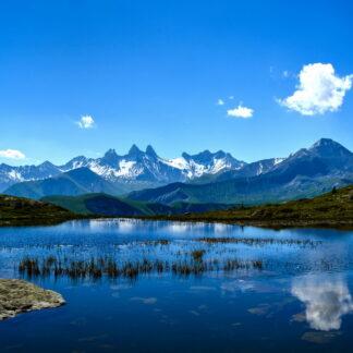 Фото на стекле «Природа в горах»