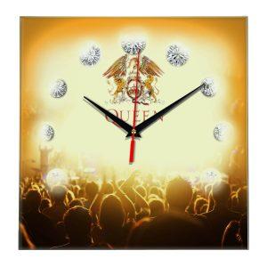 Queen band настенные часы 12
