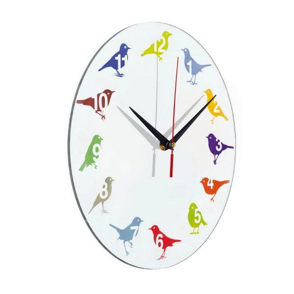 """Оригинальные часы """"Яркие пернатые"""""""