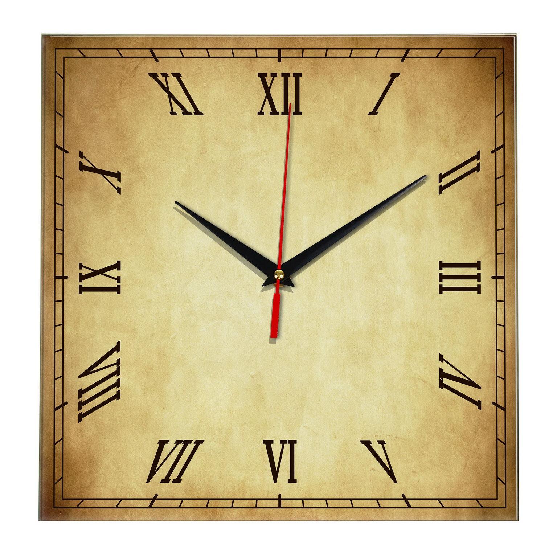Ретро часы квадратные Винтаж r340