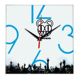 Radiohead настенные часы 8