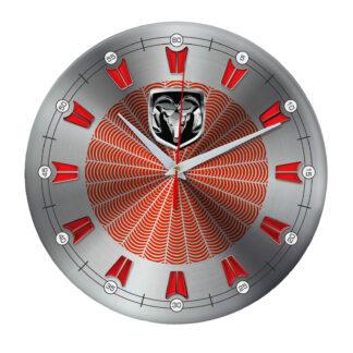 настенные часы с символом RAM 5 09