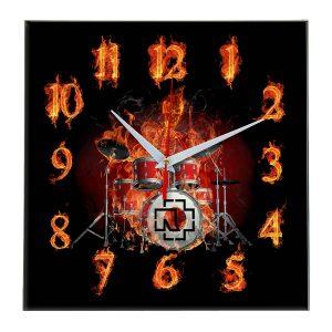 Rammstein настенные часы 10