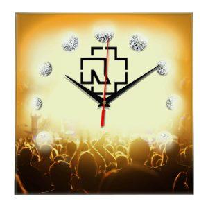 Rammstein настенные часы 12