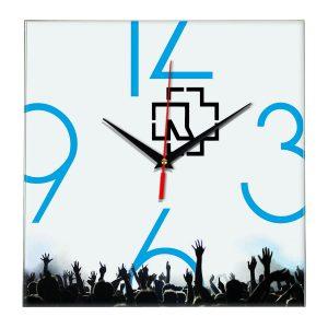 Rammstein настенные часы 8