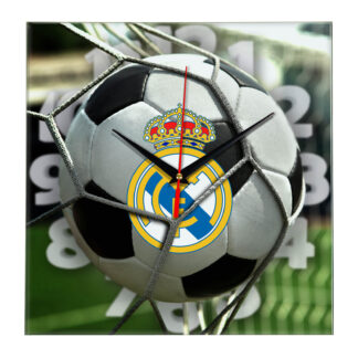 Настенные часы «С логотипом Real madrid»
