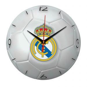 Настенные часы «Футбольный мяч Real madrid»