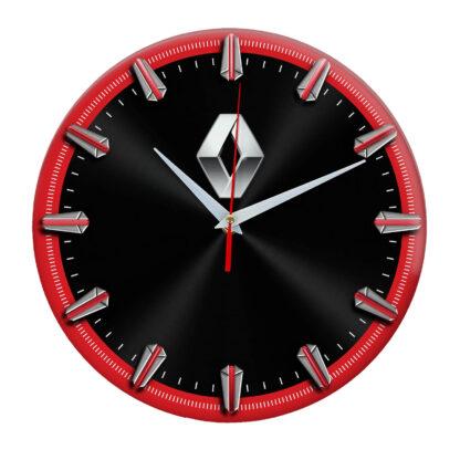 Настенные часы с рисками Renault 06