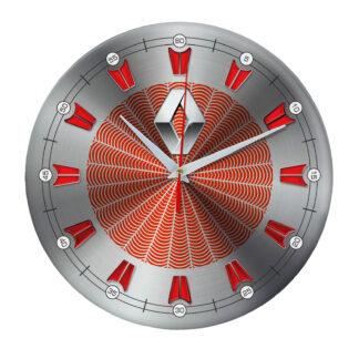 настенные часы с символом Renault 09
