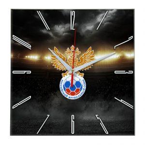 Настенные часы «В лучах славы Rossiyskiy futbolnyi souz»