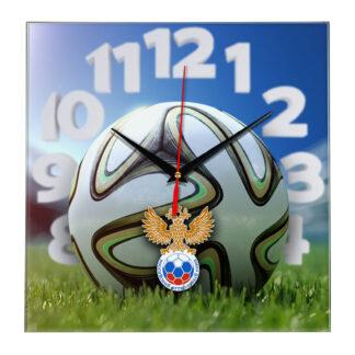 Настенные часы «На стадионе Rossiyskiy futbolnyi souz»