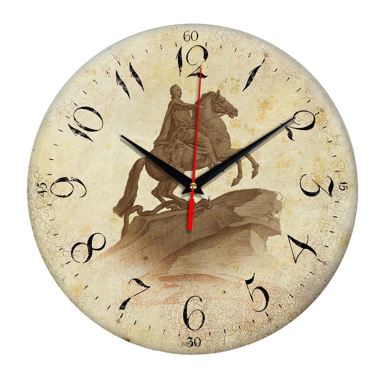 """Часы настенные """"Медный всадник"""""""