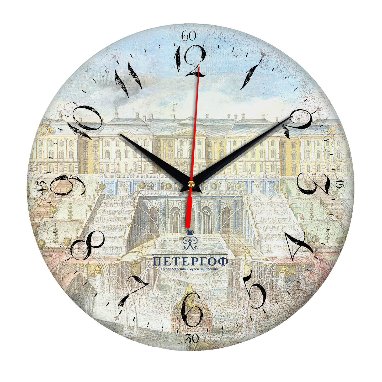 часы сувенир с видами Санкт Петербурга S-P-003