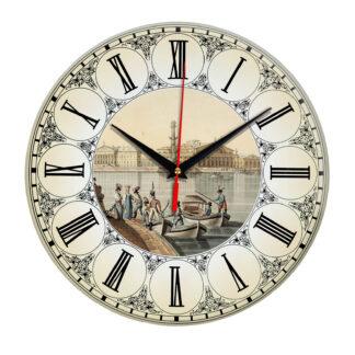 Часы настенные «Река Нева»