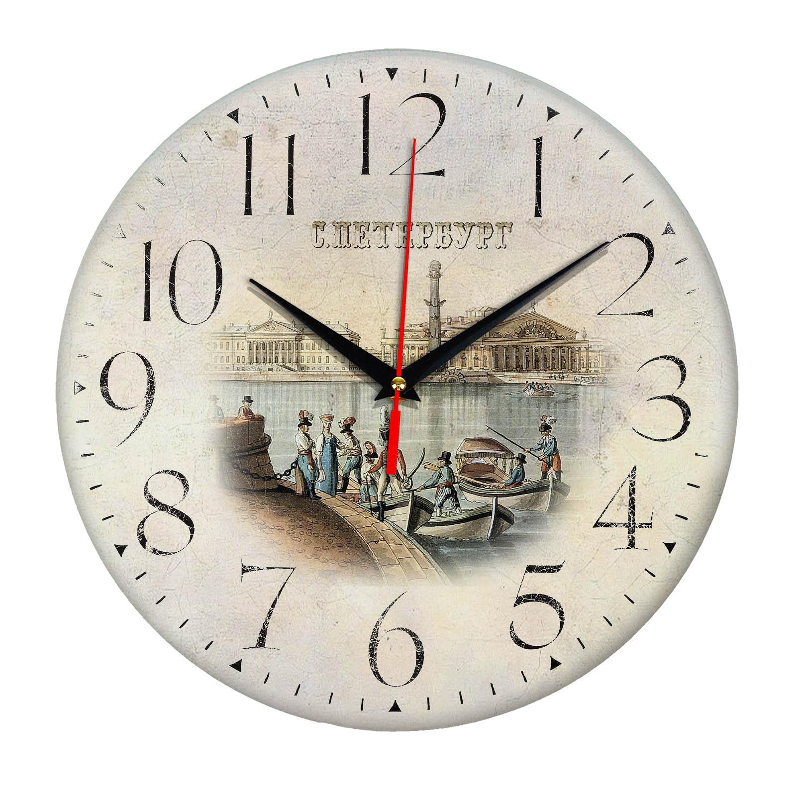 часы сувенир с видами Санкт Петербурга S-P-006