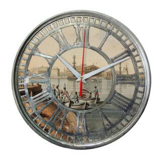 Часы настенные «Великолепный вид на Васильевский остров»