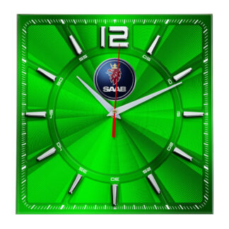 Сувенир – часы Saab 01