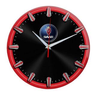 Настенные часы с рисками Saab 06