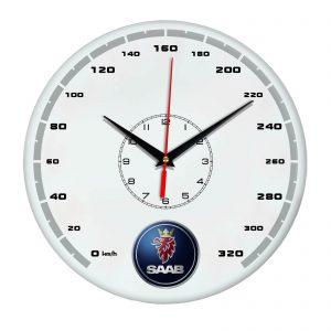 Сувенир – часы Saab 14