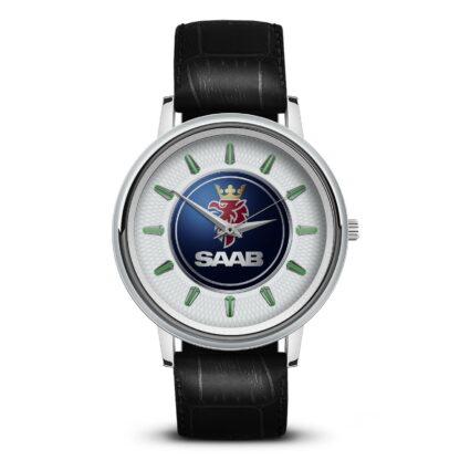 Saab автомобильный бренд на часах