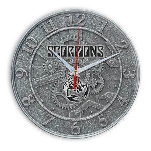 Scorpions настенные часы 1