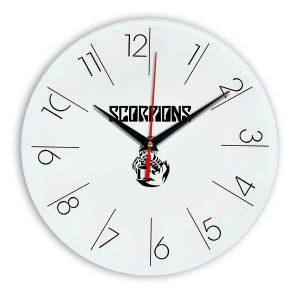 Scorpions настенные часы 6