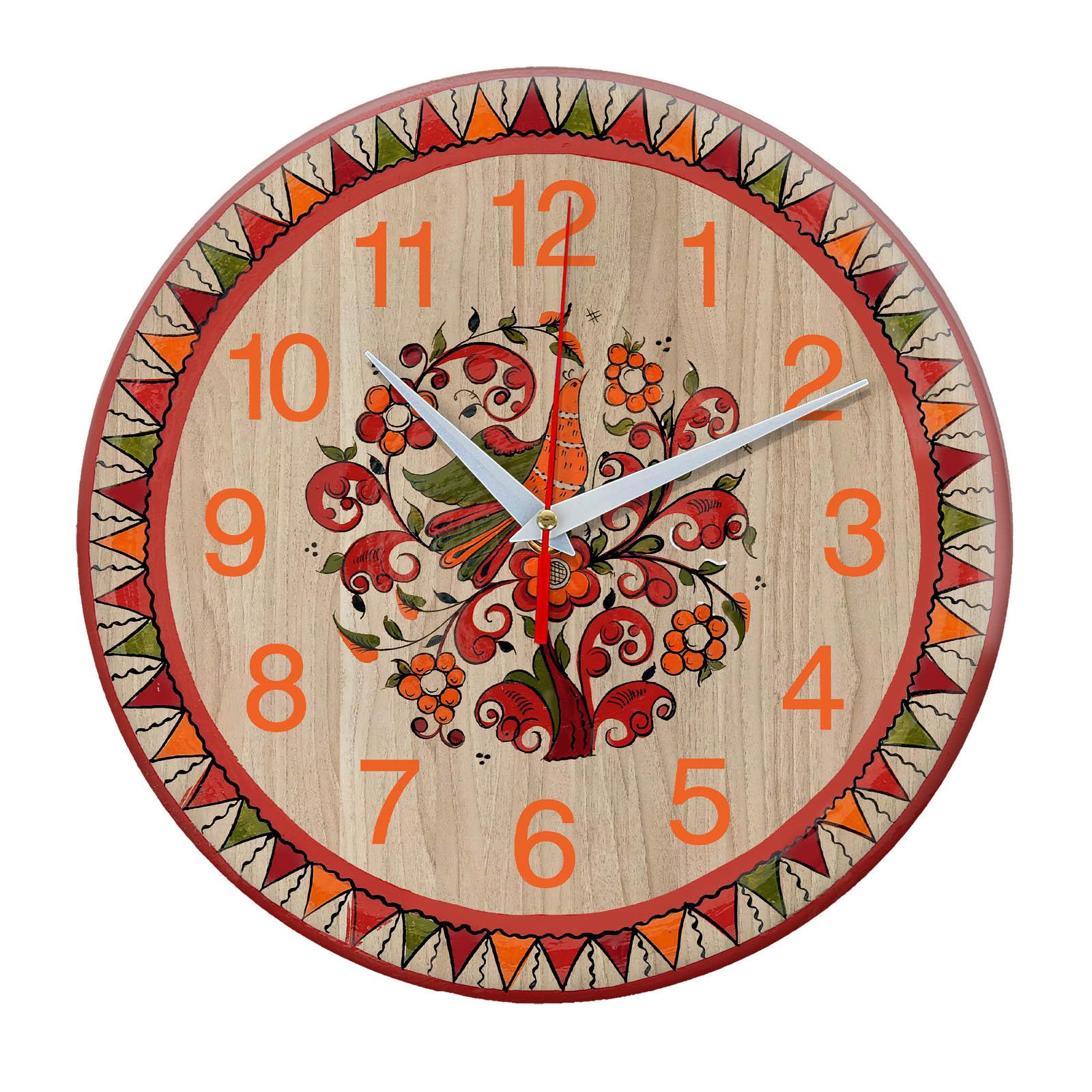 часы Северодвинская роспись