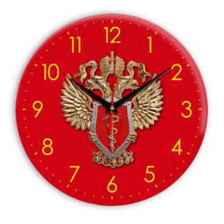 Настенные часы  «simvolika-fskn-3d-krasnoe»