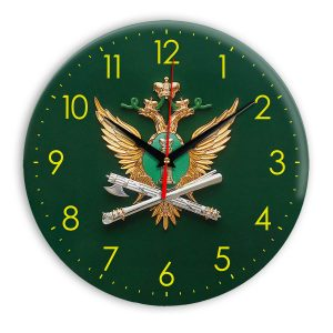 Настенные часы «simvolika-FSSP-3d-svetl-krug»