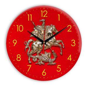 Настенные часы «simvolika-Moskvy-3d-svetl-krug»