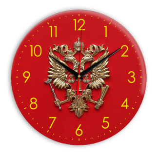Настенные часы  «simvolika-sudebnyj-departament-3d»